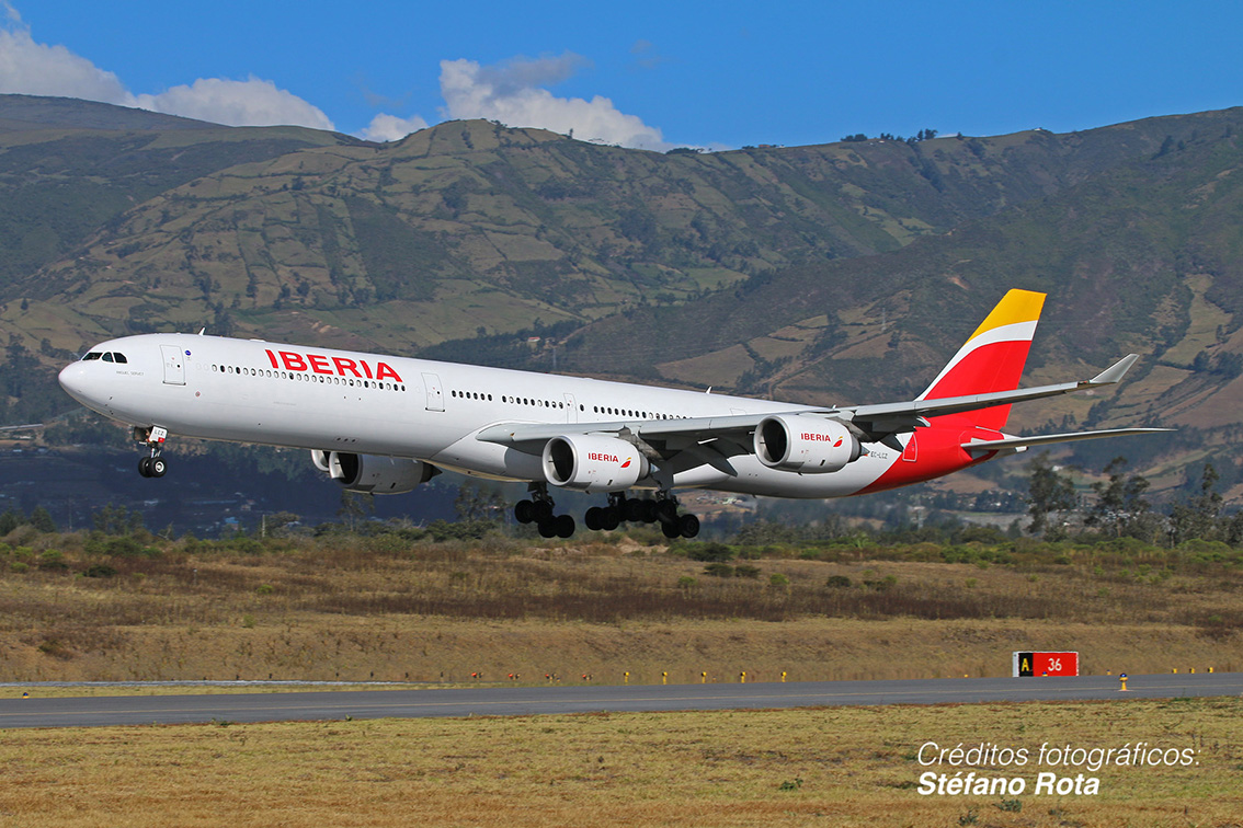 Iberia will fly direct seven times a week between Quito and Madrid